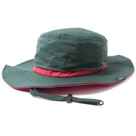 (撥水 防汚)ベーシックエンチ Teflon Safari Hat 2 アウトドア ハット レディース メンズ フリーサイズ グリーン