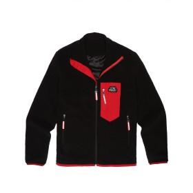 ジャケット メンズ 冬 (クーファンディ) Coofandy フリース パイル レトロ 起毛 大きいサイズ スタンドカラー 肉厚 防寒 保温 防風 ジップアップ あったか ふわふわ