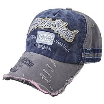 キャップ メンズ 野球帽子 ハット レデイース ベースボールキャップ ワークキャップ ゴルフ帽子 春 夏 秋 冬 つば付きキャップ ダメージ加工 サンバイザー ファッション アウトドア 紫外線対策