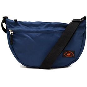 (Marib select) ショルダーバッグ 軽量 弓型ショルダー シンプル メッセンジャーバッグ 斜めがけバッグ 鞄 バッグ ユニセックス 普段使いに最適 #b664 (ネイビー)