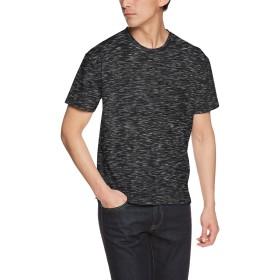 (リピード) REPIDO 半袖Tシャツ クルーネック 半袖 Tシャツ メンズ ビッグT ポケット ブラック Mサイズ