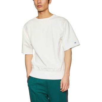 [チャンピオン] カットオフスウェットシャツ C3-P006 メンズ オフホワイト 日本 L (日本サイズL相当)