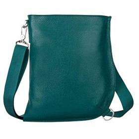 KISSUN ボディーバッグ メンズ 本革牛革 ワンショルダーバッグ 斜めがけ iPadAir 収納可能 (宝の青)