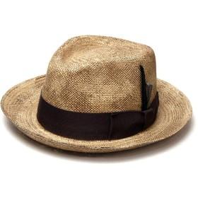 [Bailey(ベイリー)] パナマ中折れ帽 TESSIER(M(約57cm) アンティークナチュラル)