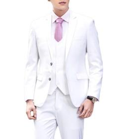 KEEPLINE ジャケット メンズ ブレザー 2つボタン テーラードジャケット スーツ生地 ビジネス ファッション ドレッシー 長袖 パーティ/結婚式 礼服 春 夏 秋 大きいサイズ