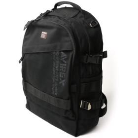 (アビレックス) AVIREX アヴィレックス イーグルシリーズ リュックサック デイパック バックパック メンズ レディース F Black AVX3524