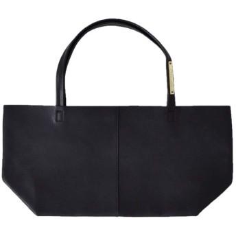 """(ユッキーノ)yucchino レザートートバッグ""""OTONA eco-bag S"""" S ブラック otona-eco-bag-s-s-black"""