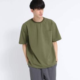 (ティーケー タケオキクチ) tk.TAKEO KIKUCHI ポリトロTシャツ 17036321 01(S) カーキ(027)
