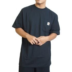 (カーハート) Carhartt Tシャツ ポケットTシャツ WORKWEAR POCKET TEE [K87] L BLACK [並行輸入品]