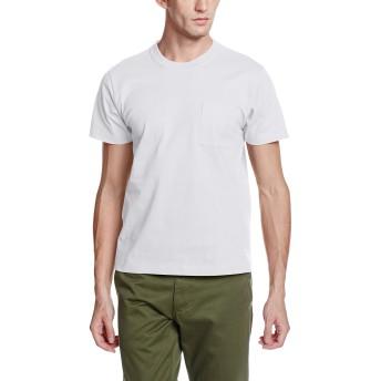 [グンゼ] Tシャツ WORKING PRO ポケット付 WP1013A メンズ ホワイト 日本 M (日本サイズM相当)