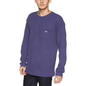 [リー] サーマル ポケットロゴ 長袖Tシャツ LT2371-1 メンズ ネイビー 日本 M (日本サイズM相当)