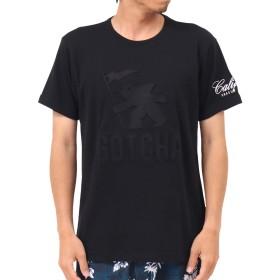 [ガッチャ] GOTCHA Tシャツ シリコン エンボス フィッシュマン Tee 192G1041 ブラック L
