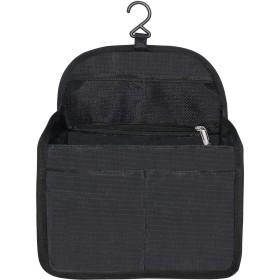 HyFanStr リュック用 バッグインバッグ 自立 インナーバッグ レディース 小物整理 収納 バッグインバッグ 縦 軽量 ブラック M
