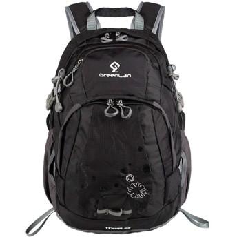 Rayiisuy 登山 リュック 旅行 ハイキング サイクリングバッグ 防災 防撥水 リュックサック 多機能 軽量トレッキング 自転車 デイパック バックパック 通気性 30L アウトドア リュック (ブラック)