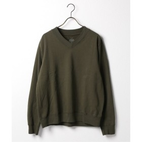【ジャーナルスタンダード/JOURNAL STANDARD】 SKU SUPIMA FLEECE V-NECK SWEATSHIRT