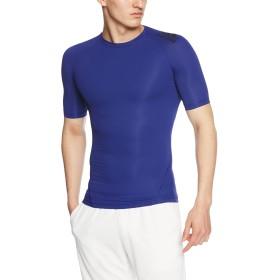 [アディダス] コンプレッションウェア アルファスキン Athlete ショートスリーブシャツ EDO57 [メンズ] ミステリーインクF17 (CD7138) J/L