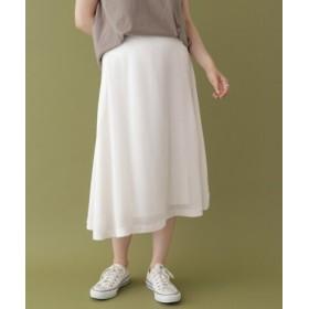 ITEMS(アイテムズ) スカート スカート ツイルロングスカート