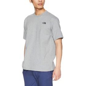 [ザ・ノース・フェイス] Tシャツ ショートスリーブスクエアロゴジョシュアツリーティー メンズ ミックスグレー 日本 M (日本サイズM相当)