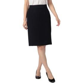(ノーリーズ ソフィー) NOLLEY'S sophi バックサテンタイトスカート 8-0030-9-06-001 40 ネイビー