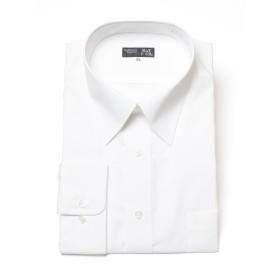 (サカゼン) B&T CLUB 大きいサイズ ワイシャツ 長袖 メンズ 形態安定 レギュラーカラー ホワイト / 4L