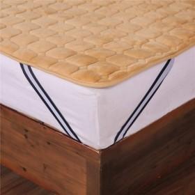 東海家紡 ふわとろの誘惑 極柔フランネル温か敷きパッド(シングルサイズ100X200cm) 高密度ボリュームたっぷりベッドパッド しっとりな