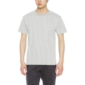 [クロスアンドステッチ] Tシャツ OE1116 メンズ ヘザーグレー 日本 L-(日本サイズL相当)