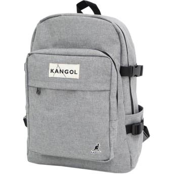 [カンゴール] KANGOL リュック パッチ バックパック ワンサイズ グレー