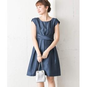 [アーバンリサーチ] ワンピース ドレス COUTURE MAISON ウエストクロスワンピース レディース ブルー 38
