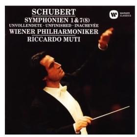 リッカルド・ムーティ/シューベルト:交響曲第1番・第7(8)番「未完成」
