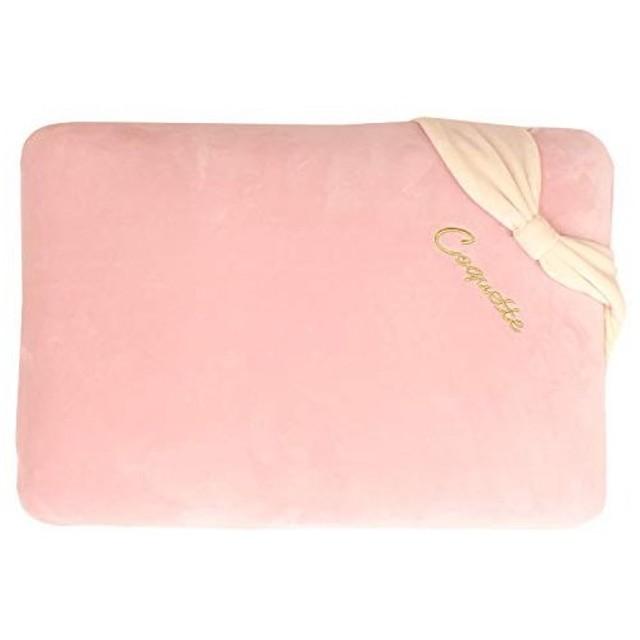 メリーナイト ピンク 30×50 ふんわり マシュマロタッチ 低反発枕 リボン付き MT183090-16