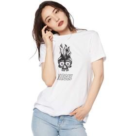 (ディーゼル) DIESEL レディース Tシャツ スカルロゴ 半袖 Tシャツ 00SWP40HERA S ホワイト 100