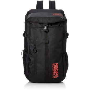 [マイケルリンネル] Big Backpack ML-008 メンズ ブラック/ブラックレッド