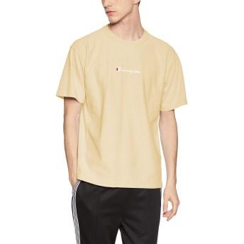 [チャンピオン] リバースウィーブ Tシャツ C3-P322 メンズ ベージュ 日本 L (日本サイズL相当)