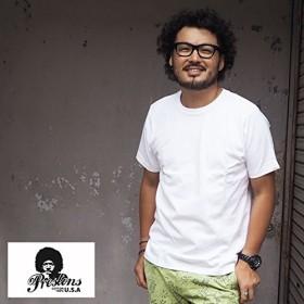 (プレストンズ) PRESTONS CottonUSA Tシャツ prs-7100011 XLサイズ 02 BLACK ブラック