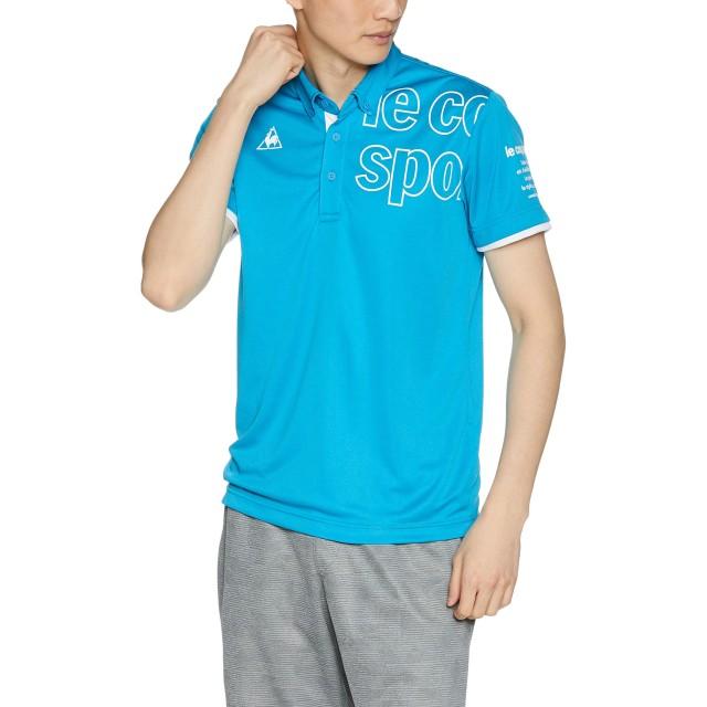 [ルコックスポルティフ] ハンソデポロシャツ 半袖ポロシャツ ブルードゥアジュール 日本 S (日本サイズS相当)