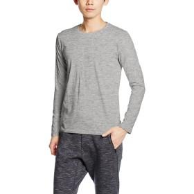 [ダルク] フィットネス シャツ DM504 メンズ メランジグレー 日本 XS-(日本サイズXS相当)