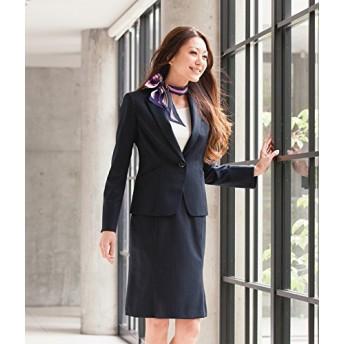 カーシー(karsee) enjoy EAS-477 マーメイドラインスカート 5号~21号 10:ブラックストライプ 9号 事務服 制服