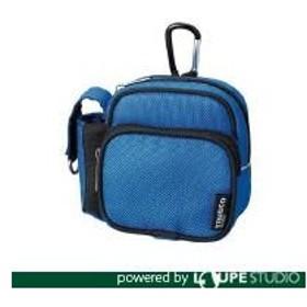 TRUSCO トラスコ中山 コンパクトツールケース ツーワイドポケット ブルー [TCTC1802-BL]  TCTC1802BL 販売単位:1