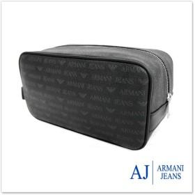 ARMANI JEANS アルマーニジーンズ セカンドバッグ 932535 CC996 ブラック