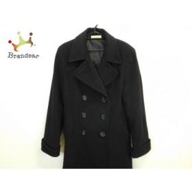 セシルマクビー CECILMcBEE コート サイズ9 M レディース 黒 冬物/ロング丈 新着 20190713