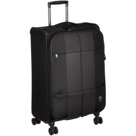 [サンコー] スーツケース ソフト Finoxy-ZERO エキスパンド機能付き 消音/静音キャスターFNZR-60 54L 60 cm 2.7kg ブラック