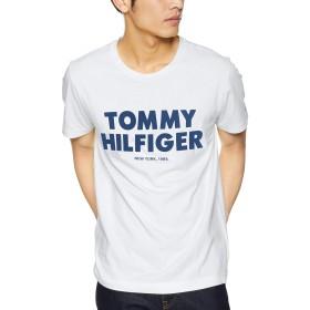 (トミーヒルフィガー) TOMMY HILFIGER 【オンライン限定カラーあり】ロゴ Tシャツ MW0MW09821 S ホワイト