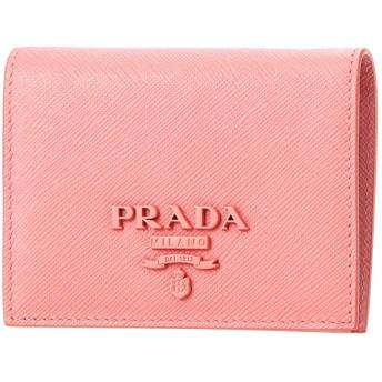 プラダ(PRADA) 2つ折り財布 1MV204 2EBW F0442 サフィアーノ シャイン ピンク [並行輸入品]