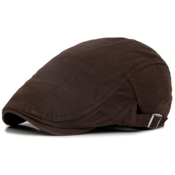 lily's JP home ハンチング帽子 ベレー帽 メンズ 帽子 キャップ 無地 コットン 調節可能 6色選べる