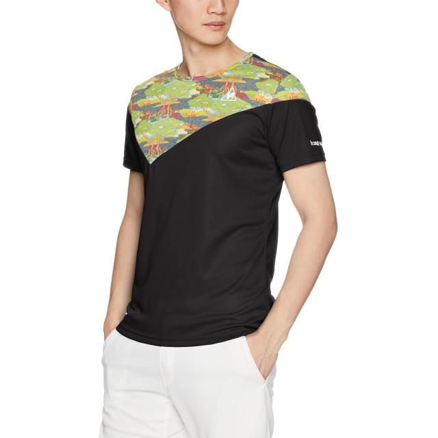 [ルコックスポルティフ] 半袖シャツ QTMLJA01 [メンズ] BLK 日本 M-(日本サイズM相当)