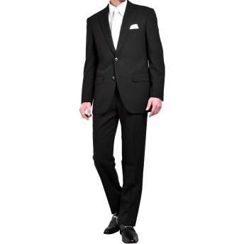 (スーツビート)suitbeat フォーマルスーツ メンズ ブラックスーツ 礼服 メンズスーツ シングル 喪服 (Y体4号(目安:身長165cm-ウエスト74cm))