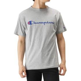 Champion(チャンピオン) プリントTシャツ 半袖Tシャツ クルーネック C3-P302 メンズ グレー:L