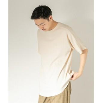 SENSE OF PLACE(センスオブプレイス) トップス Tシャツ・カットソー ハニカムワッフルルーズTシャツ(半袖)
