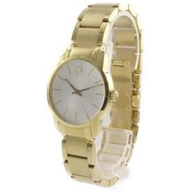 カルバンクライン レディース CITY ゴールド ステンレス K2G23546 あすつく 腕時計
