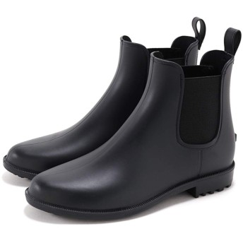 [セスト] 完全防水 サイドゴアレインブーツ/ショートブーツ LL ブラック 540-BLACK-LL